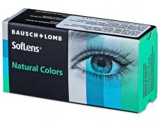 SofLens Natural Colors Indigo - ohne Stärke (2 Linsen)