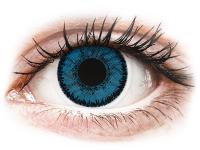 Kontaktlinsen online - SofLens Natural Colors Topaz - mit Stärke