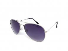 Sonnenbrille Alensa Pilot Silver