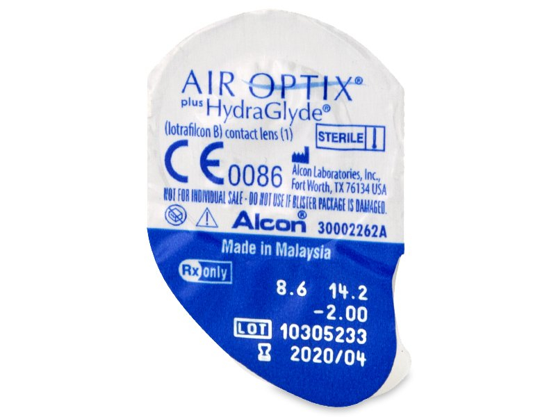 Air Optix plus HydraGlyde (6 Linsen)