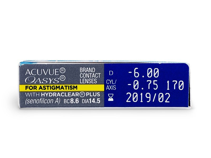 Acuvue Oasys for Astigmatism (6Linsen)